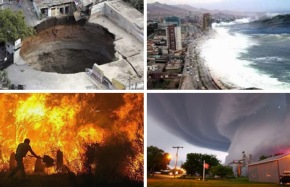 land-water-fire-sky-disasters