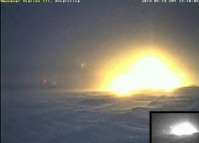neumayer station 2014_ball of light