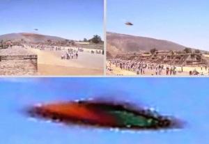 ufo pyramid mexico