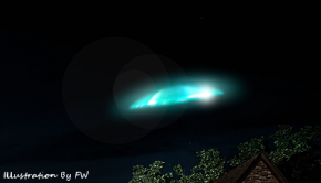 UFO Seen Hovering Over Neighbor's Home In Lewistown, PA (400 px) 7-28-14